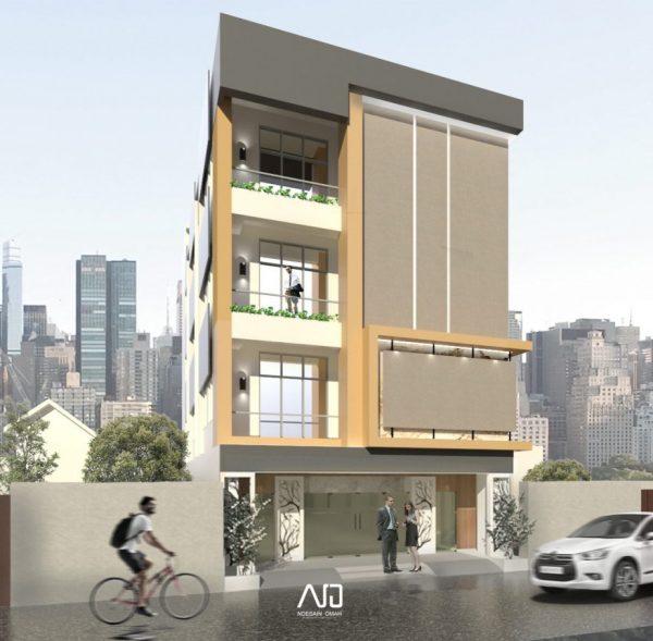 Desain kantor-modern-minimalis-midle rise building-ndesainomah