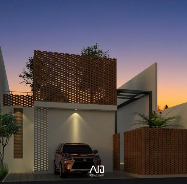 Rumah gedog-Rumah modern tropis-ndesainomah