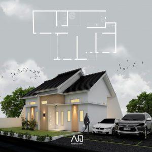 Rumah polowijen-Rumah modern tropis-ndesainomah